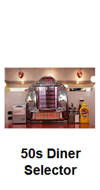 Diner Selector JukeBox