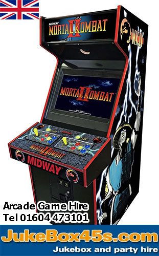 Eighties Arcade Game Hire Mortal Kombat