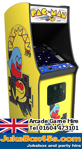 hire an arcade game in the UK Galaxian