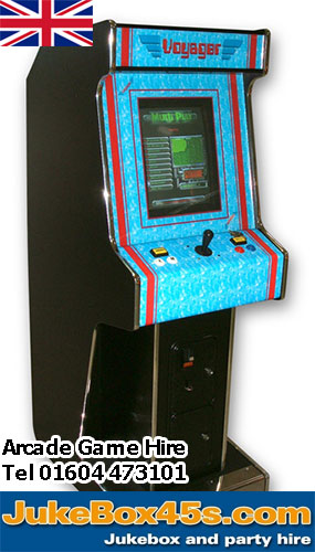 90s nineties arcade game hire