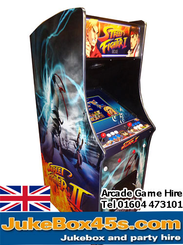 arcade game hire london
