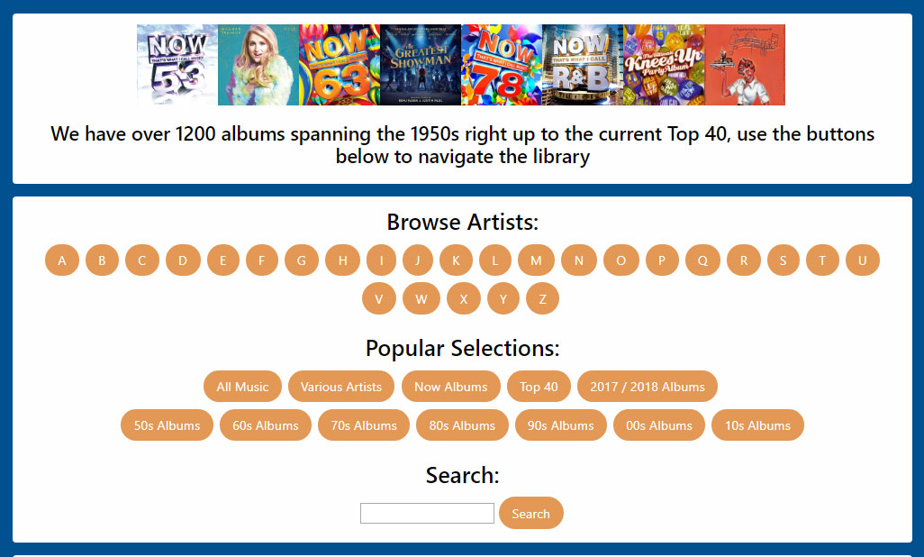 Online Music Selector