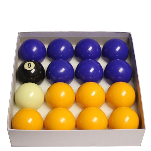 Blue & Yellow Pool Ball Hire
