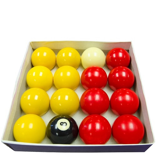 Red & Yellow Pool Ball Hire