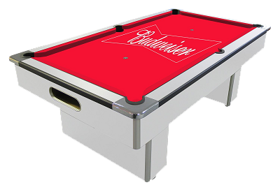 Branded Pool Table Hire