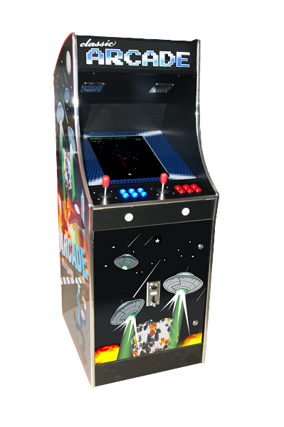 Arcade Defender Game Machine Hire