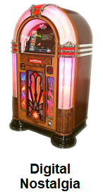Digital Nostalgia JukeBox Hire