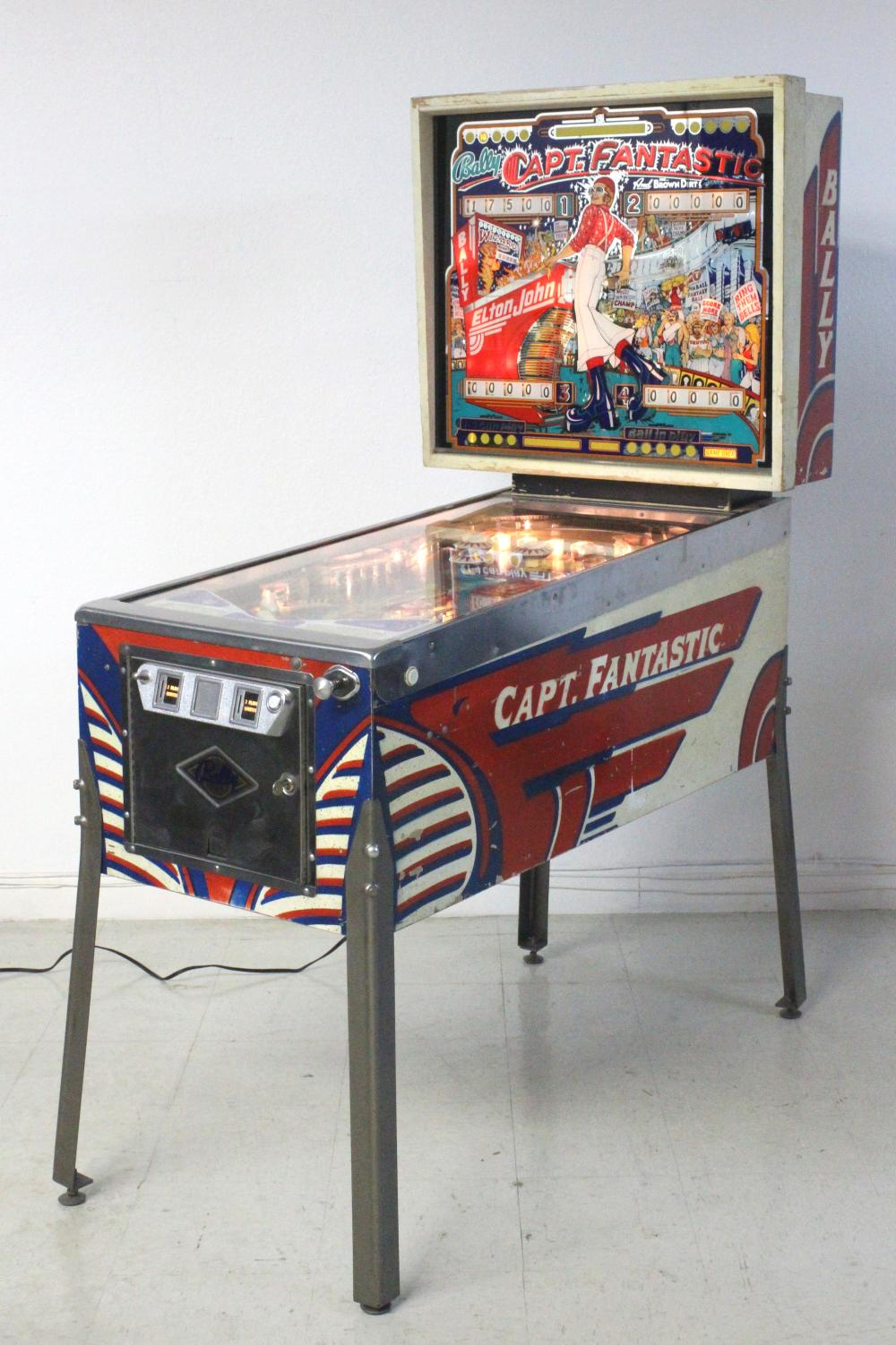 Captain Fantastic Elton John Pinball Machine For Sale
