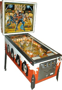 Original Bally KISS 1979 Pinball Machine For Sale