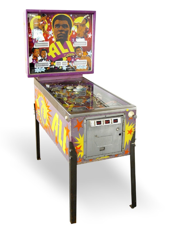 Muhammad Ali Pinball Machine For Sale