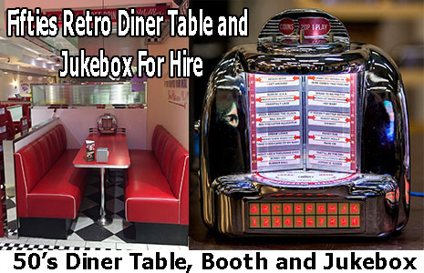 50s Diner Booth JukeBox Selector For Sale