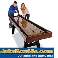 Professional 9 Foot Shuffle Board Hire