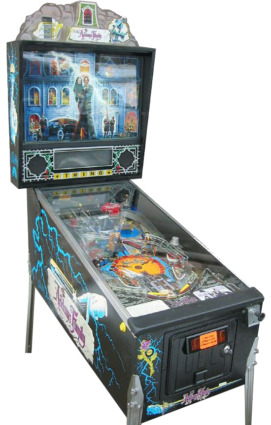 Addams Family Pinball Machine For Sale