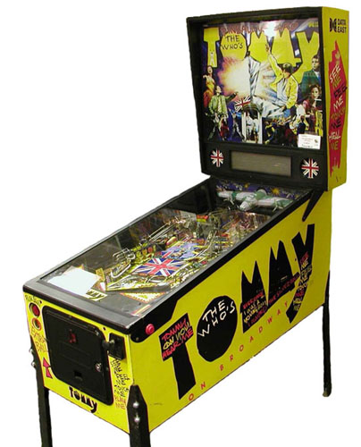 Tommy The Who Pinball Machine For Sale