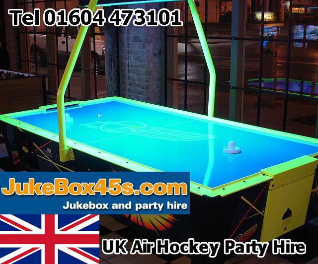 uk air hockey rental