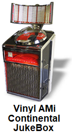 Vinyl JukeBox Hire