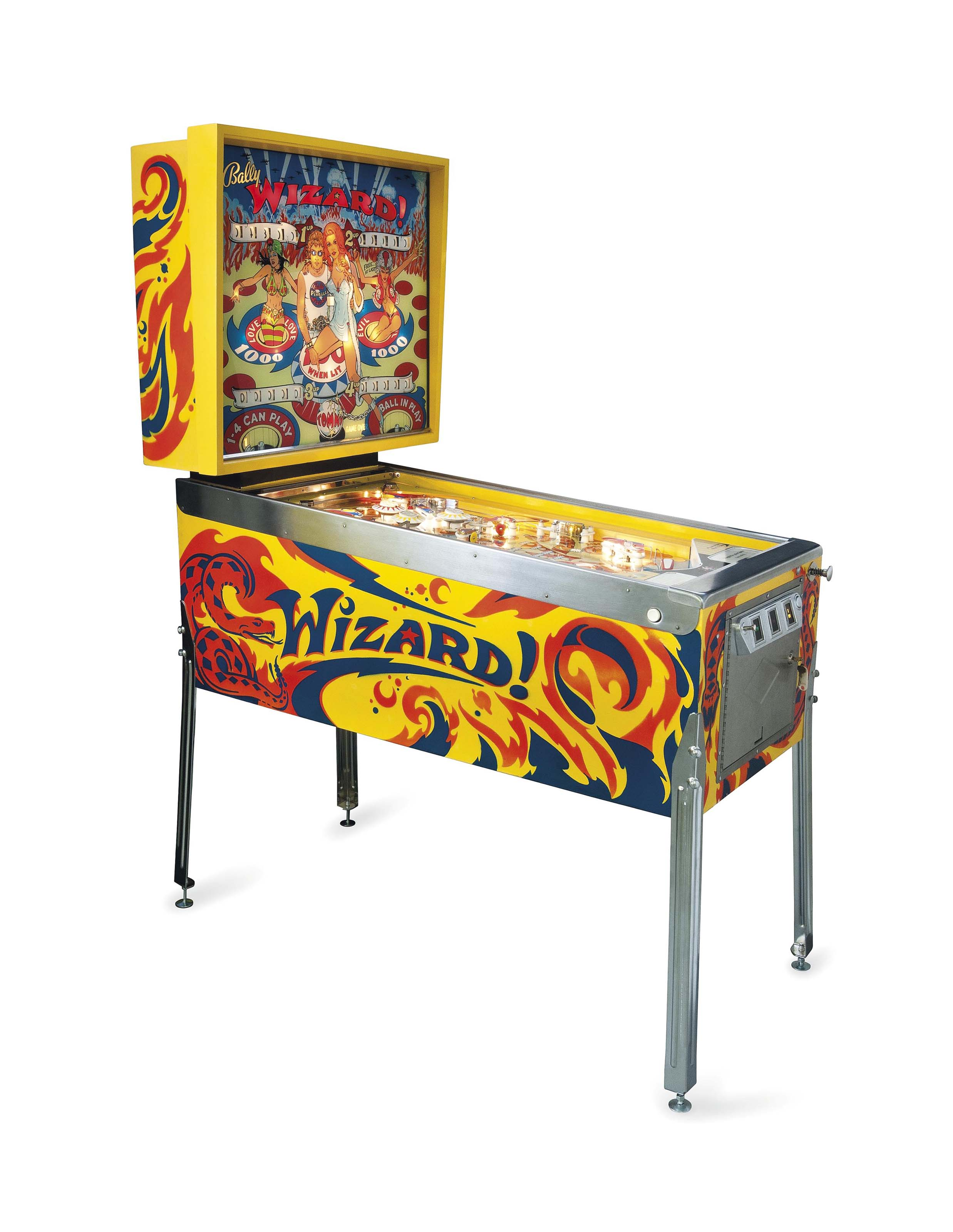 Wizard Pinball Machine For Sale